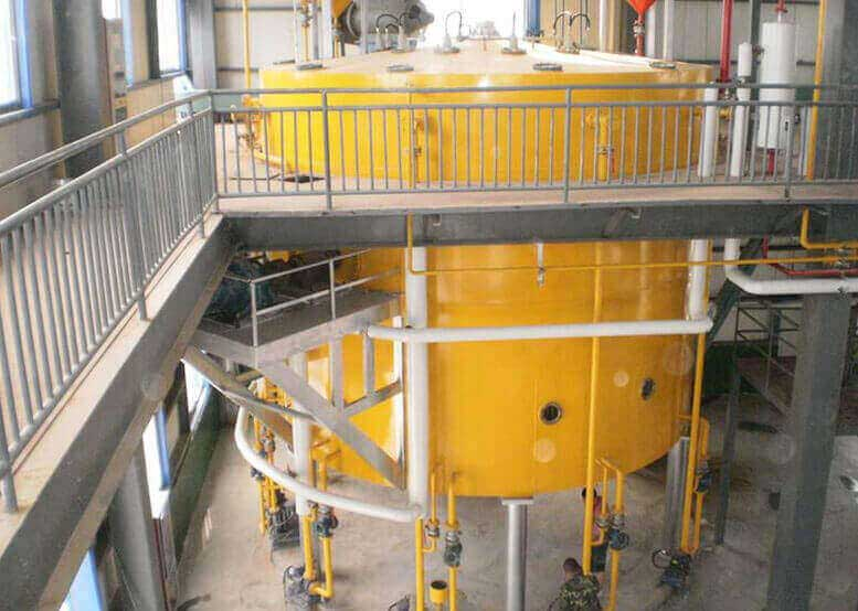Vegetable Oil Solvent Extraction Plant ( Rotocel Extractor)