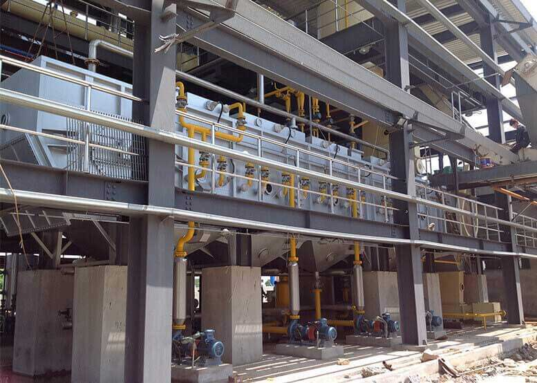 Vegetable Oil Leaching Plant (Annular Leaching)