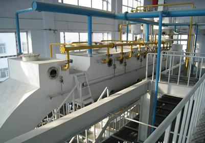 Solvent loss in the production of cooking oil leaching plant
